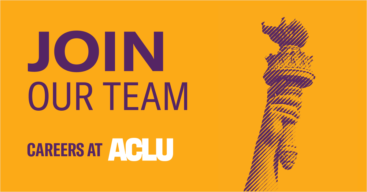Fellowship Sponsorship | American Civil Liberties Union