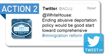 Tweet the White House (Immigration Reform)