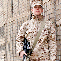 Captain Zoe Bedell, U.S. Marine Corps Reserves