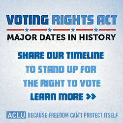 The History of The Voting Rights Act