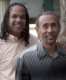 Alvin Williams and Nigel Simon