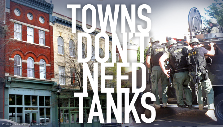 No Tanks in Towns