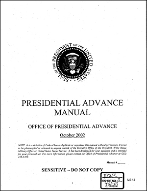 cover of advance manual