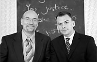 Martin Gill and Attorney Rob Rosenwald
