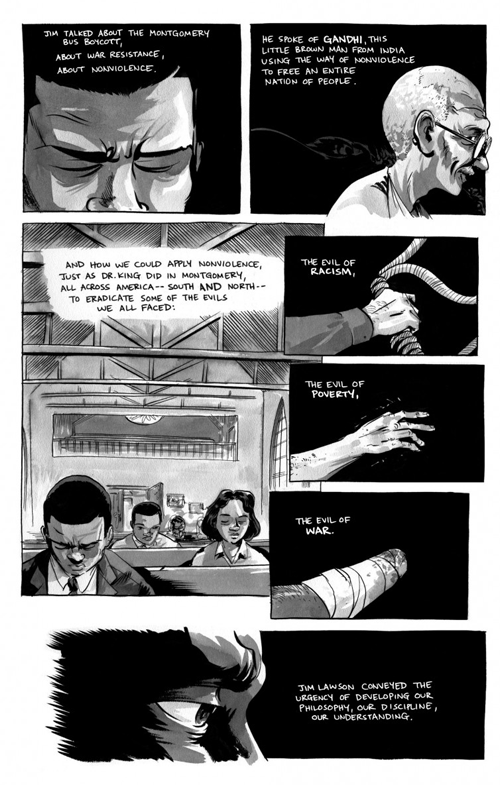 "Excerpt from ""March"", a graphic novel"