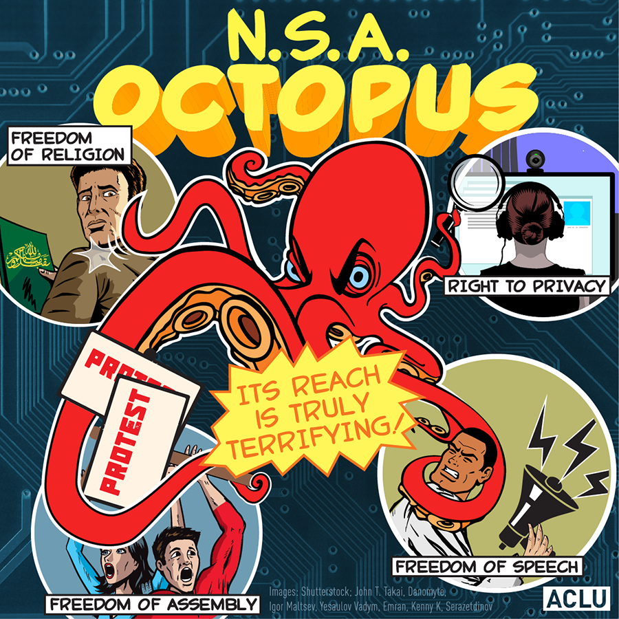 The NSA Octopus: Its Reach is Truly Terrifying!