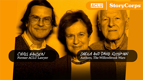 ACLU StoryCorps: Preserving and Sharing our Stories