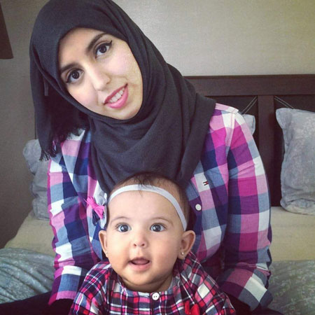 Yusra and her daughter