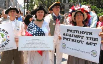 essays against the patriot act