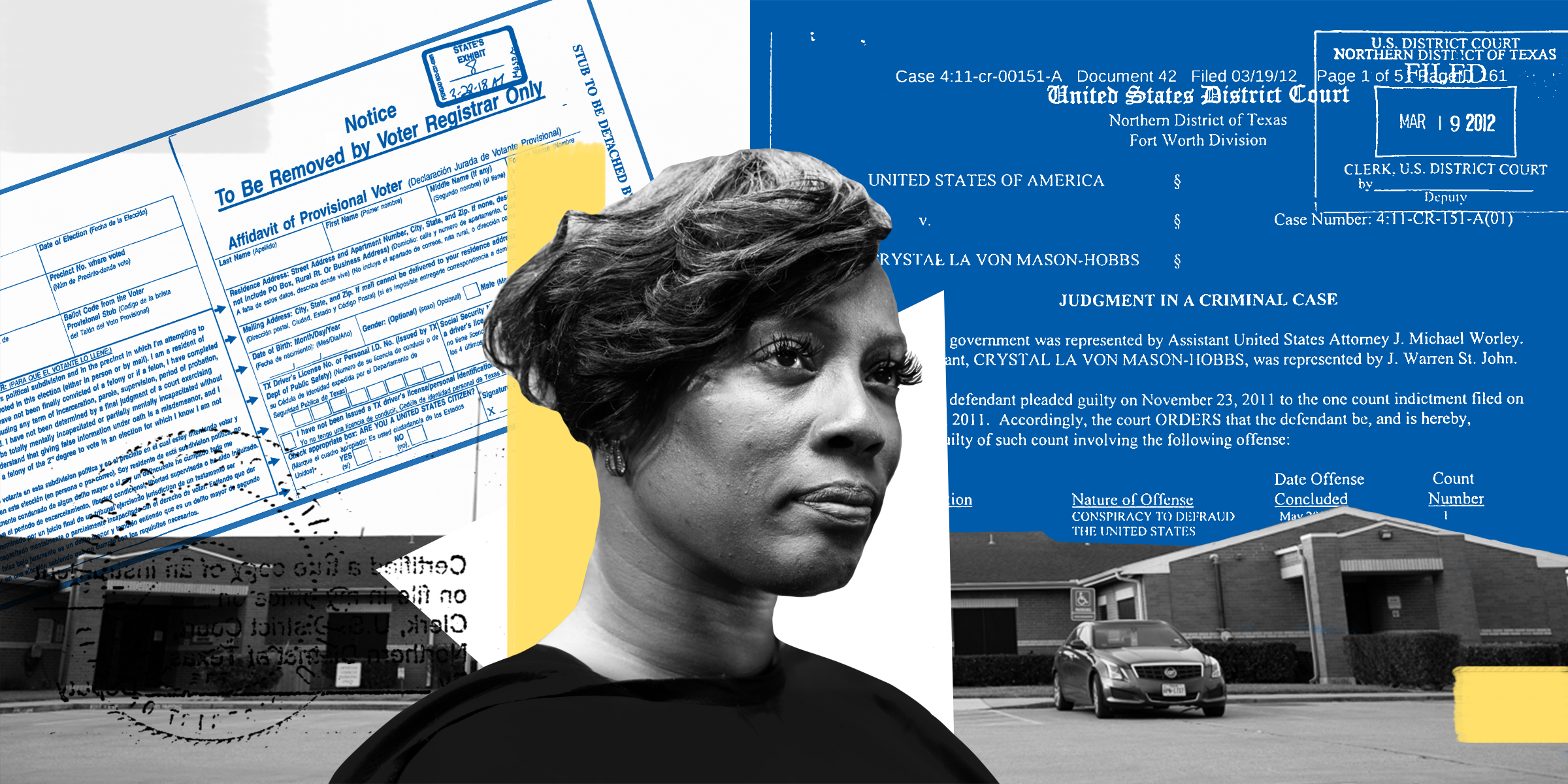Ed Dept Finds Texas Suppressed >> Crystal Mason Thought She Had The Right To Vote Texas Sentenced Her