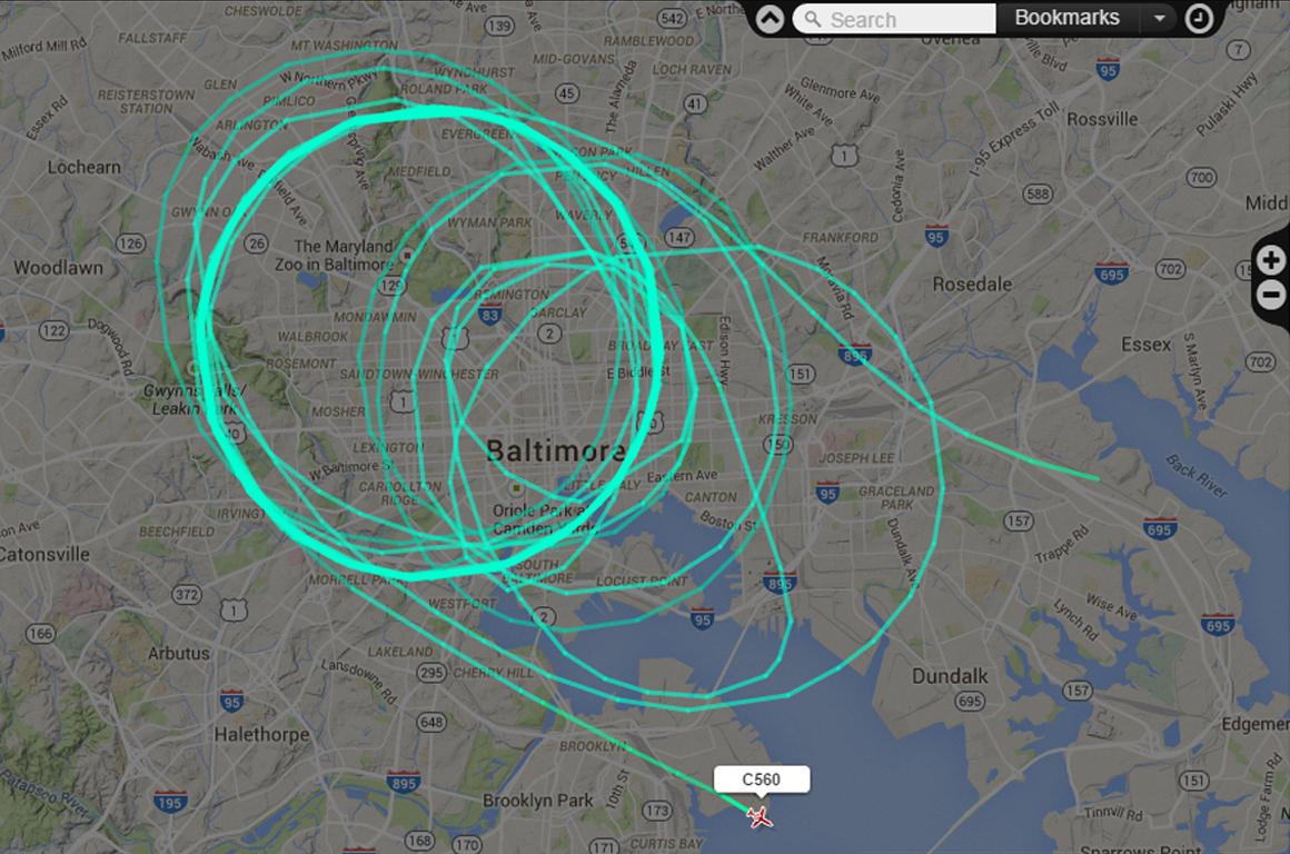 Mysterious Planes Over Baltimore Spark Surveillance Suspicions