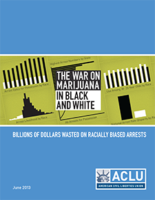 Report: The War on Marijuana in Black and White