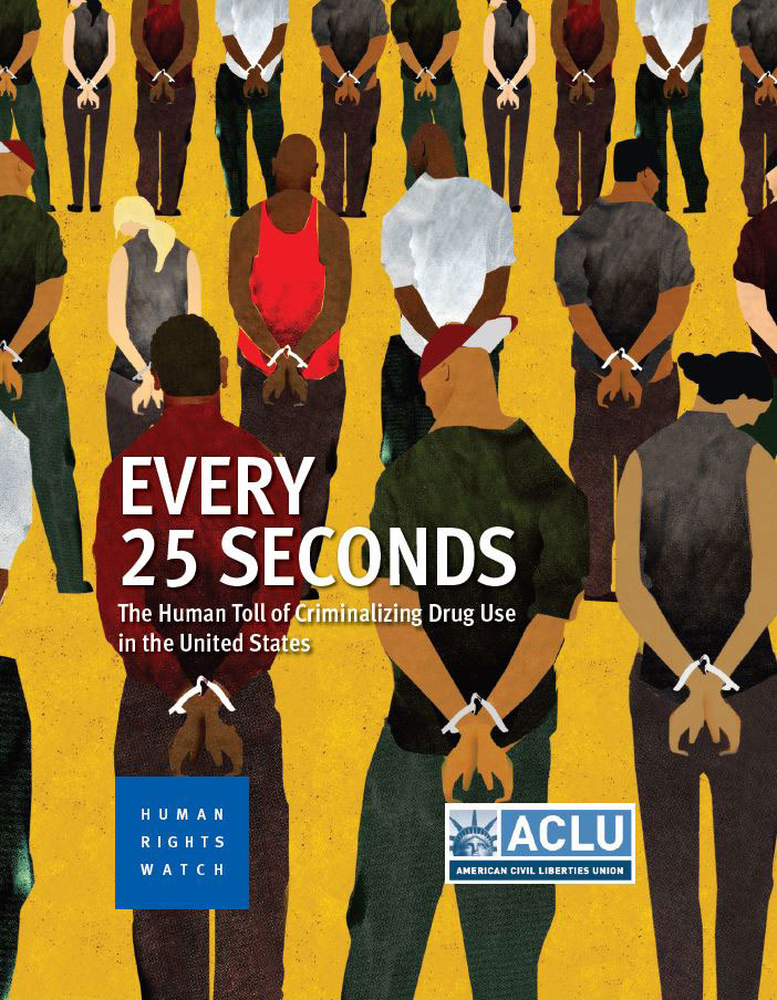 the role of the american civil liberties union aclu in the fight against drugs