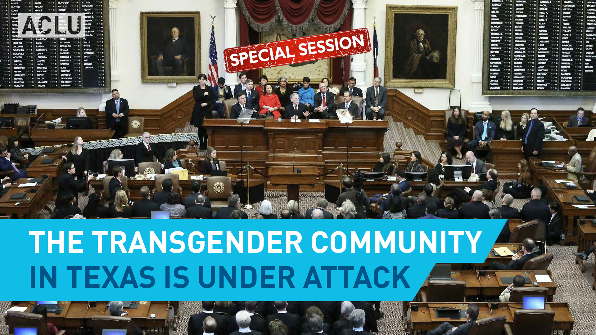 The Trans Community In Texas Is Under Attack | American ...