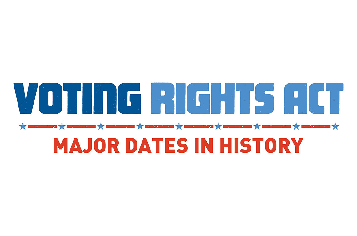 A History Of The Voting Rights Act American Civil Liberties Union