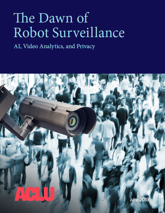 The Dawn of Robot Surveillance