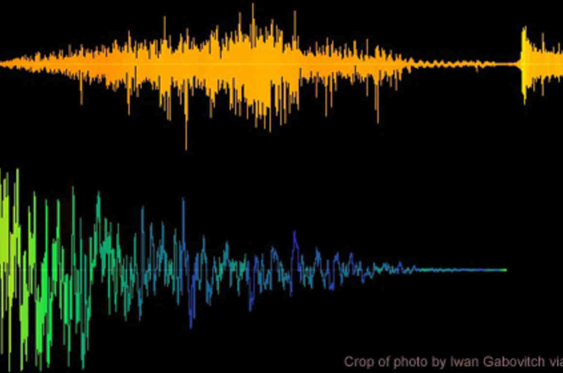 Image of audio signature graphic