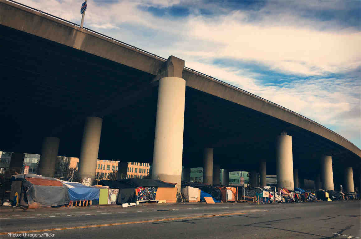 San Francisco Homeless Encampment, 2016