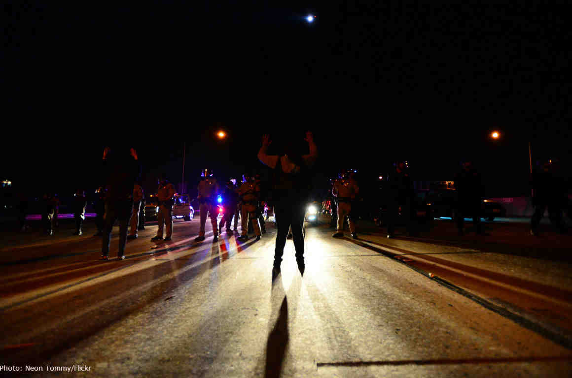 LA Protests After Grand Jury Decides Not to Indict Officer Darren Wilson