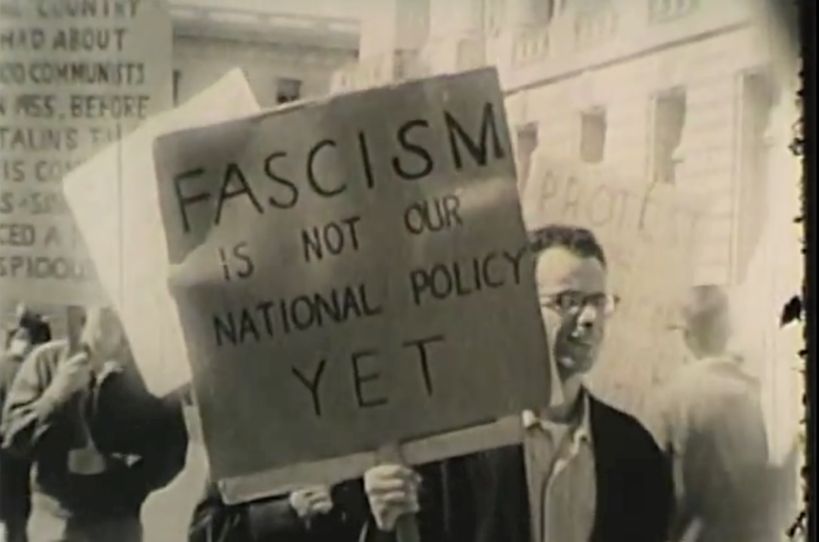 Fascism is not our national policy yet.