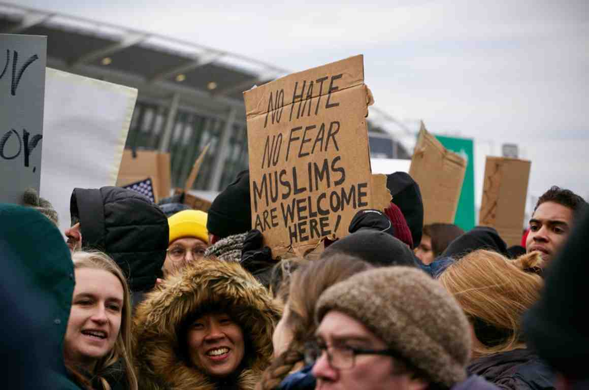No Hate No Fear Muslims Are Welcome Here