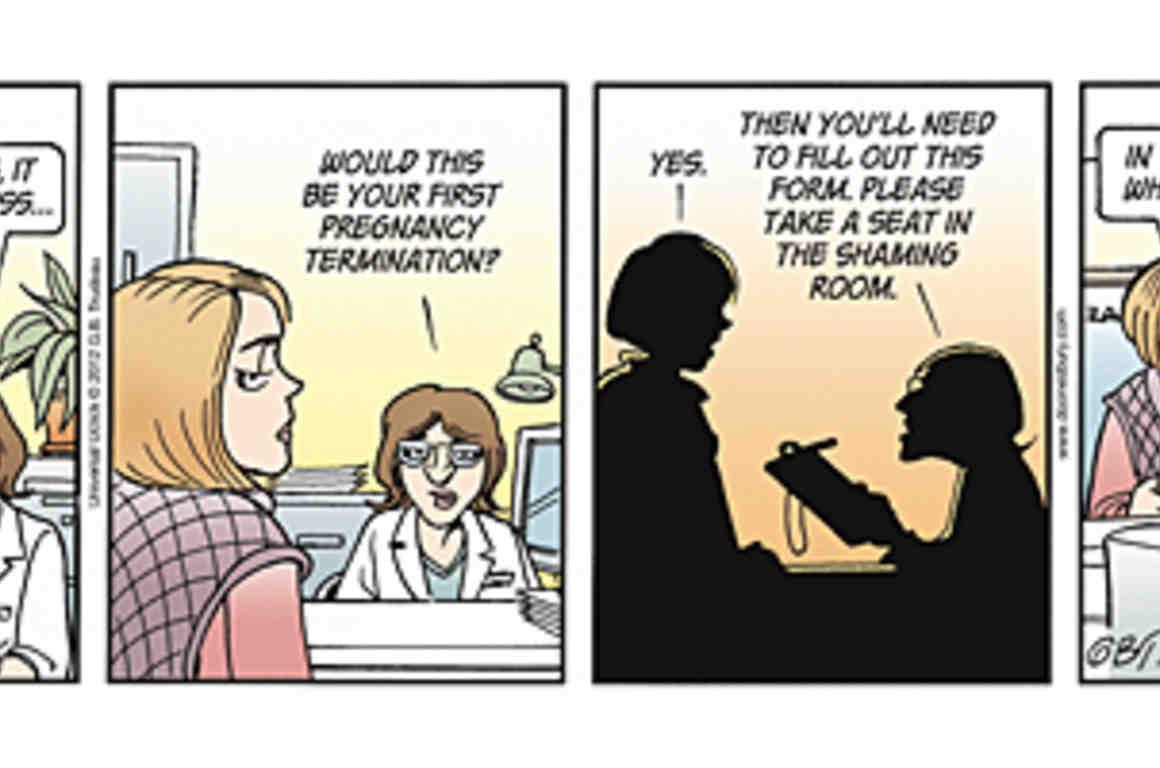 Doonsbury comic strip