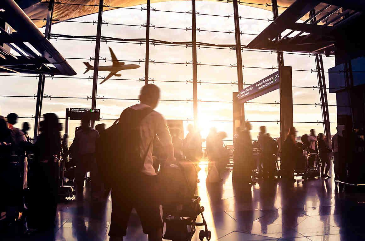 TSA Screening at Airport