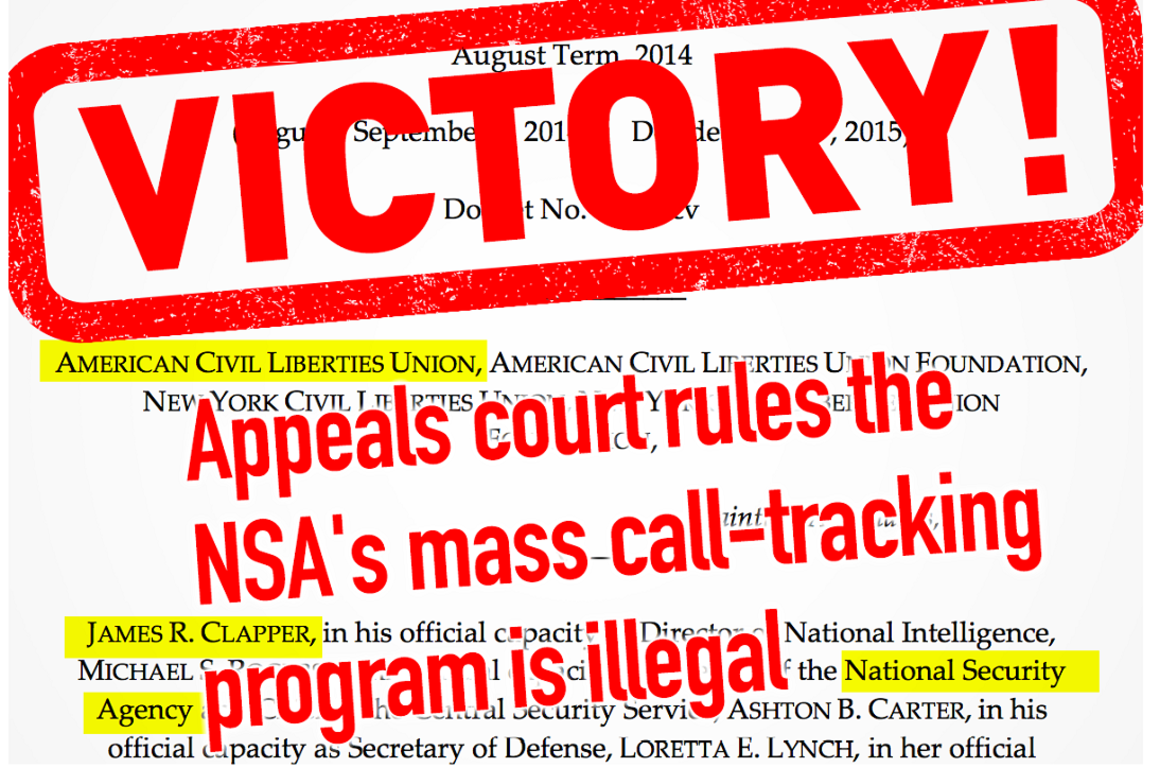 Victory in NSA lawsuit