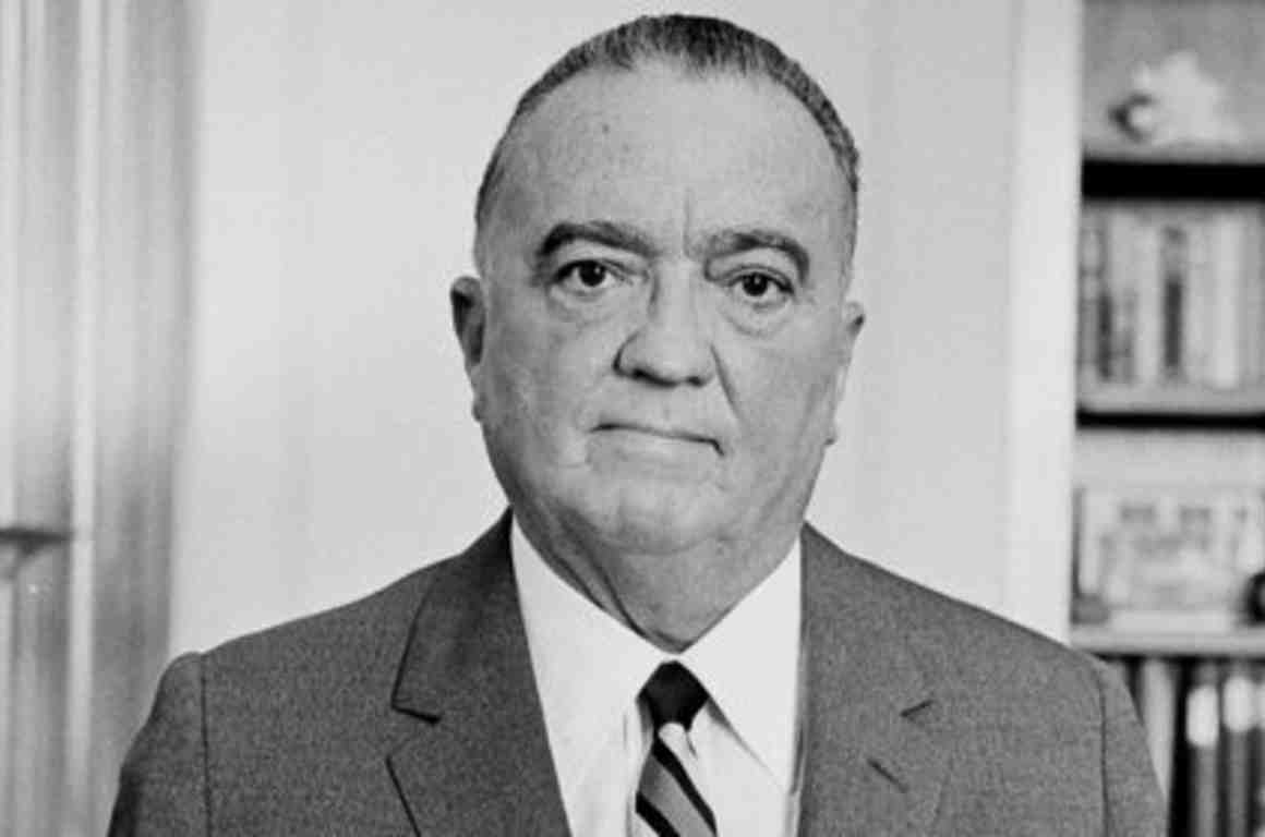 J. Edgar Hoover, 1961, photo by Marion S. Trikosko from LOC/wikipedia