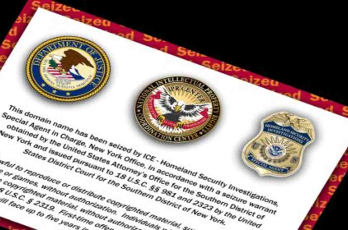 ICE Domain Name Seizures Threaten Due Process and First