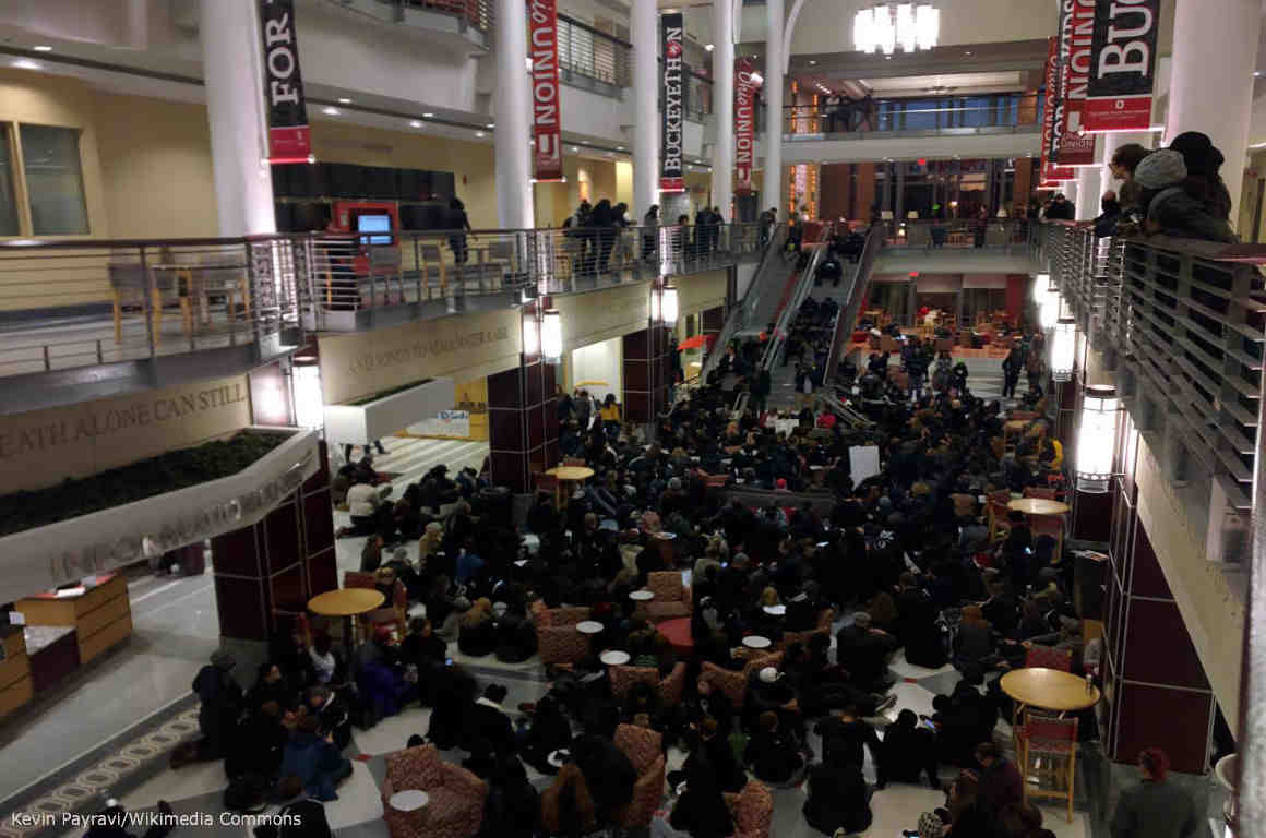 Mizzou Protest at Ohio State