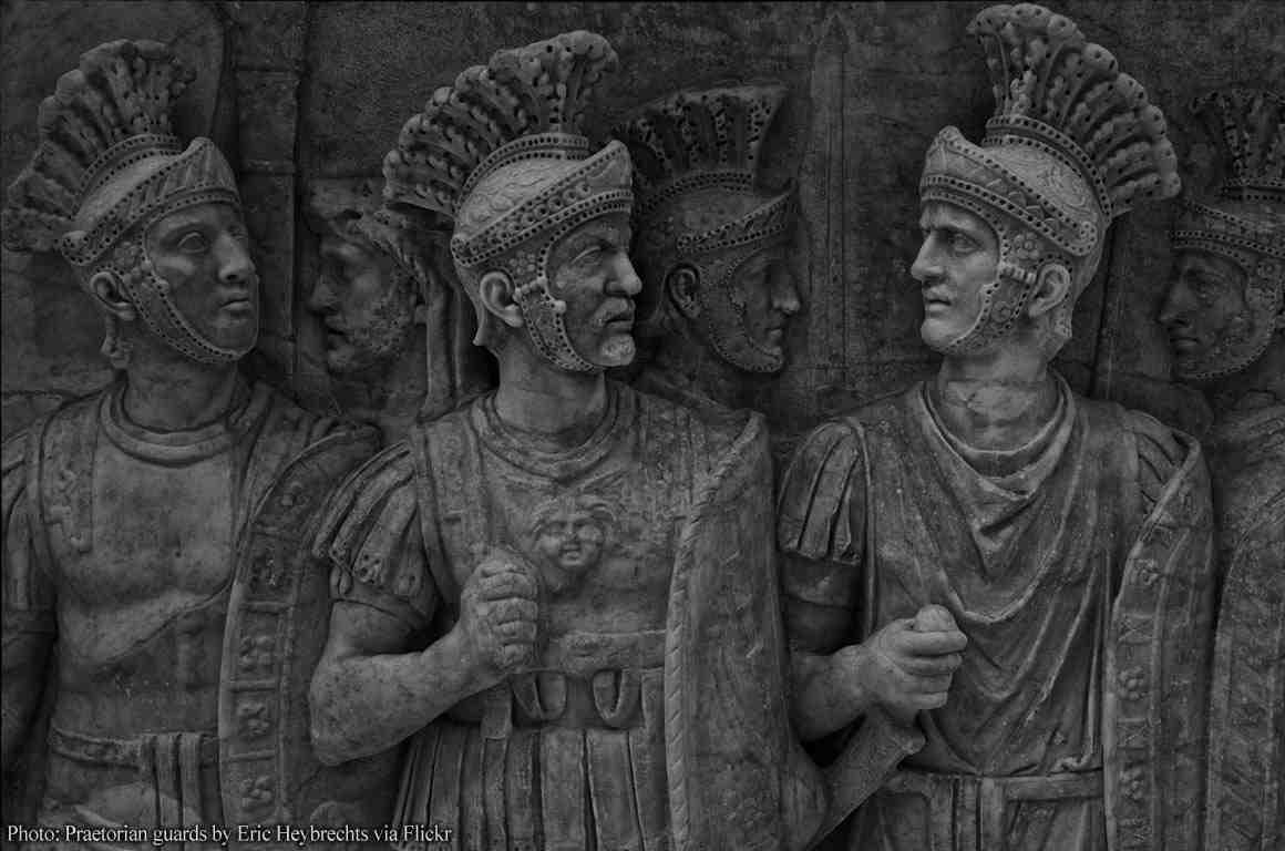 Bas-relief of Praetorian Guards