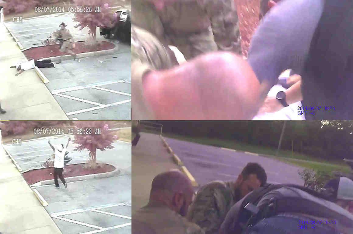 Stills from Derrick Price beating videos
