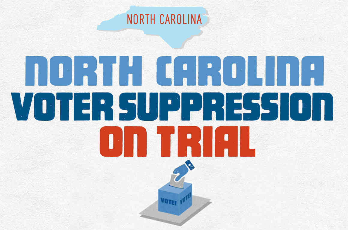 north carolina cooper voter suppression