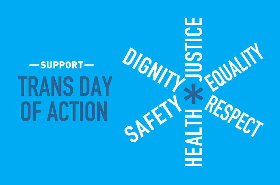 Support Trans Day of Action