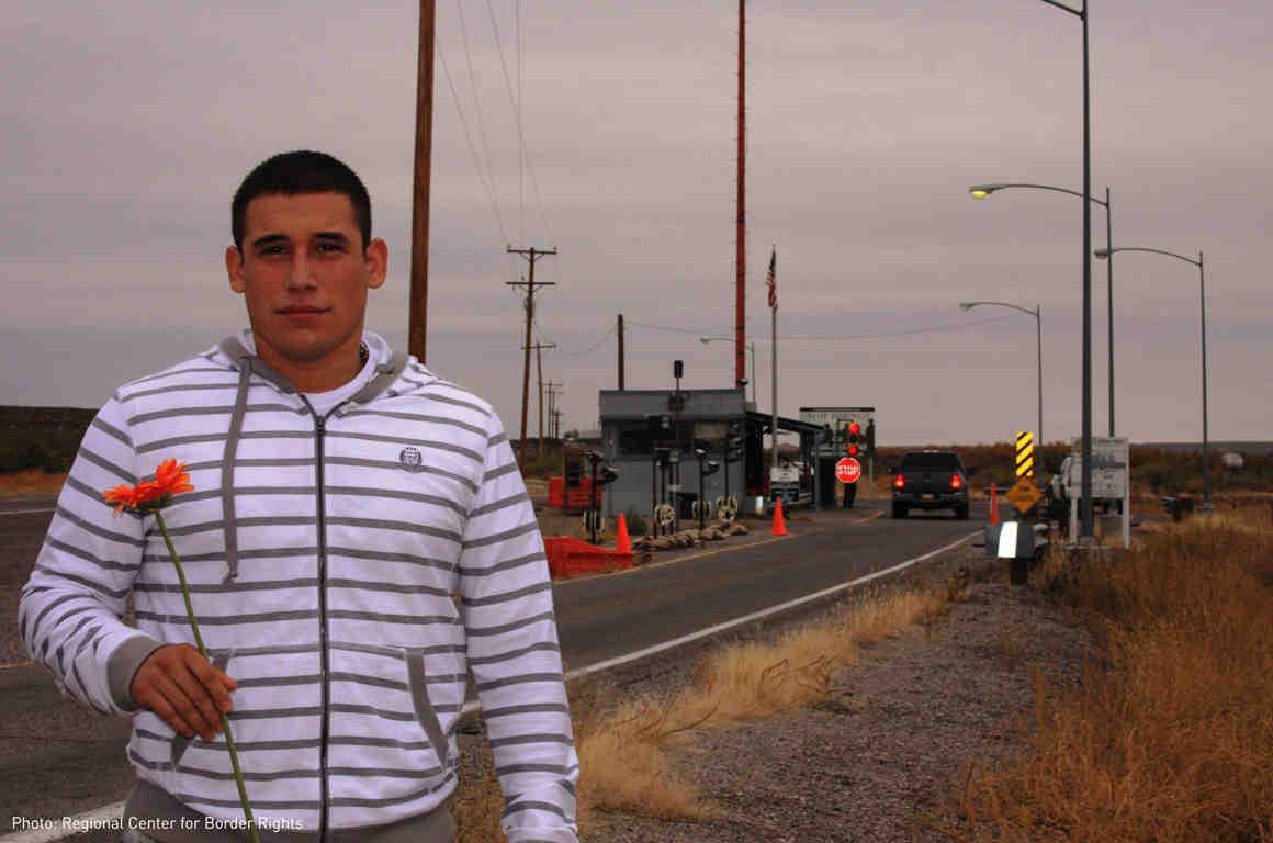 Jorge Hatch at Border Checkpoint