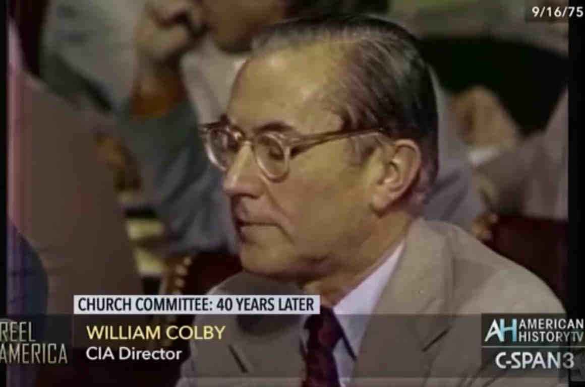 William Colby CIA Director