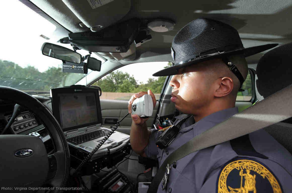Virginia State Trooper
