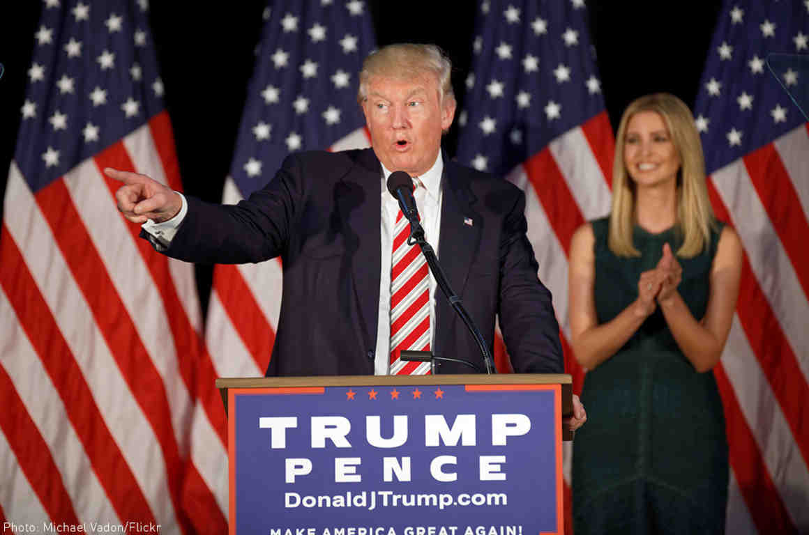 Trump Proposes Maternity Leave Policy, Doesnt Mention Dads foto