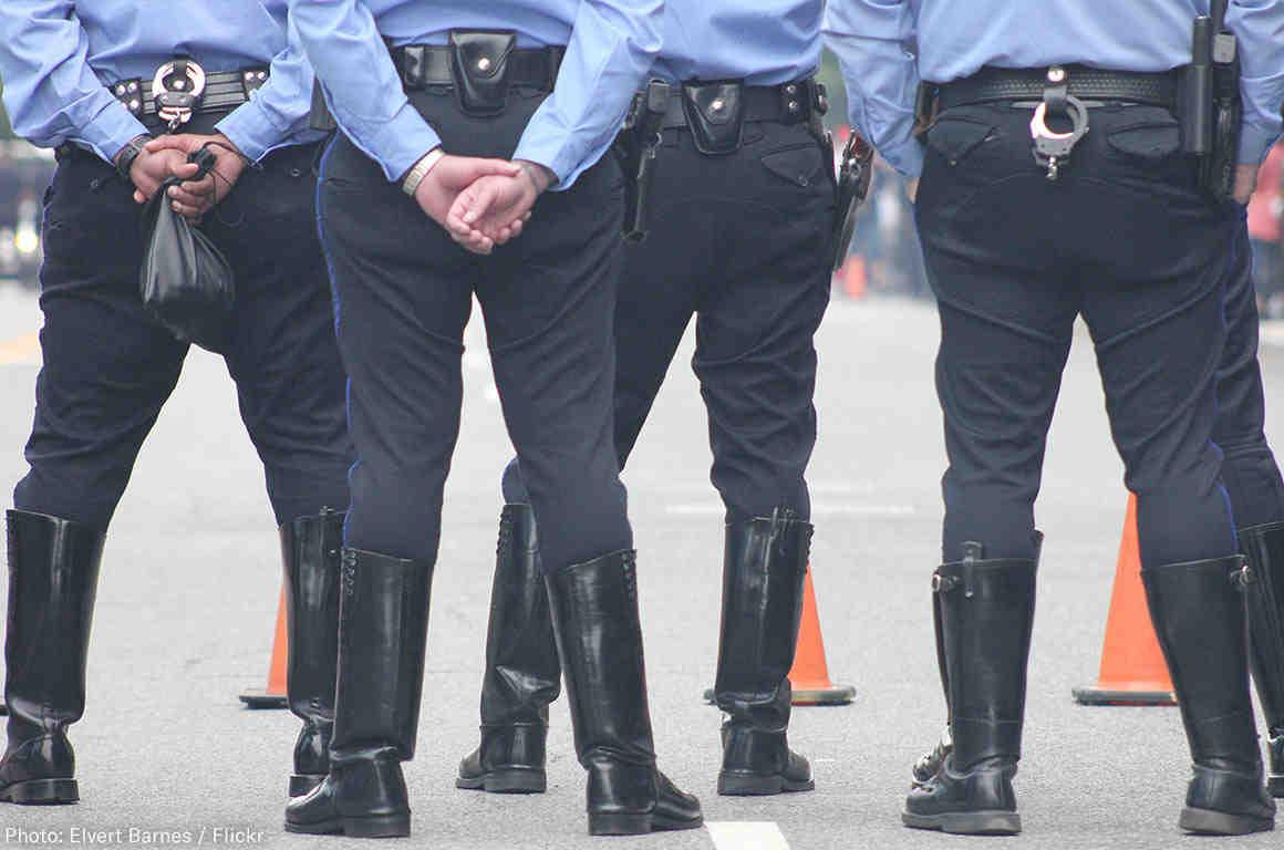 Police Legs