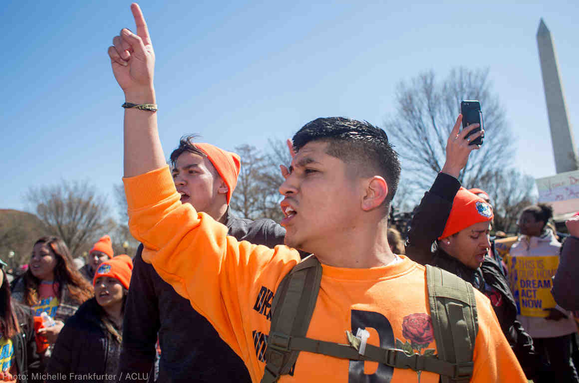 Dreamer at DACA Rally in DC
