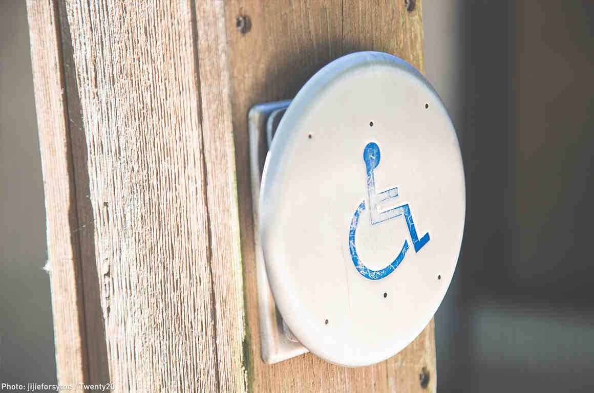 accessibility button