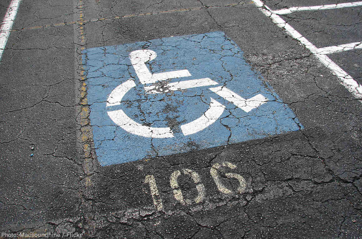 Disability Parking Spot