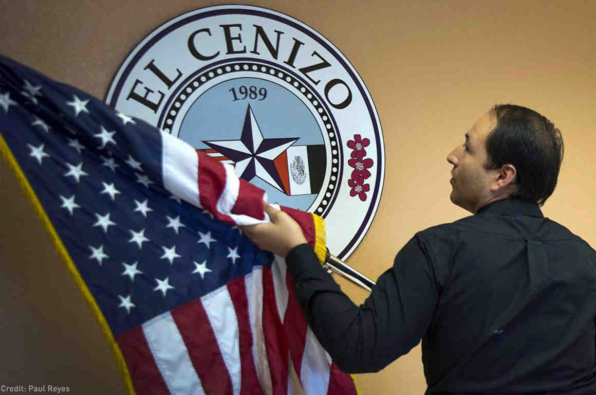 Justice Department backs Texas 'sanctuary city' law in court