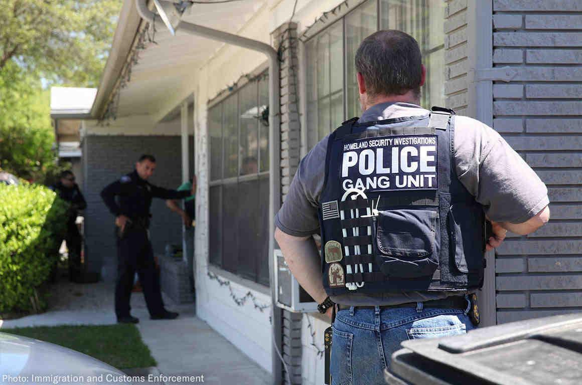ICE House Raid