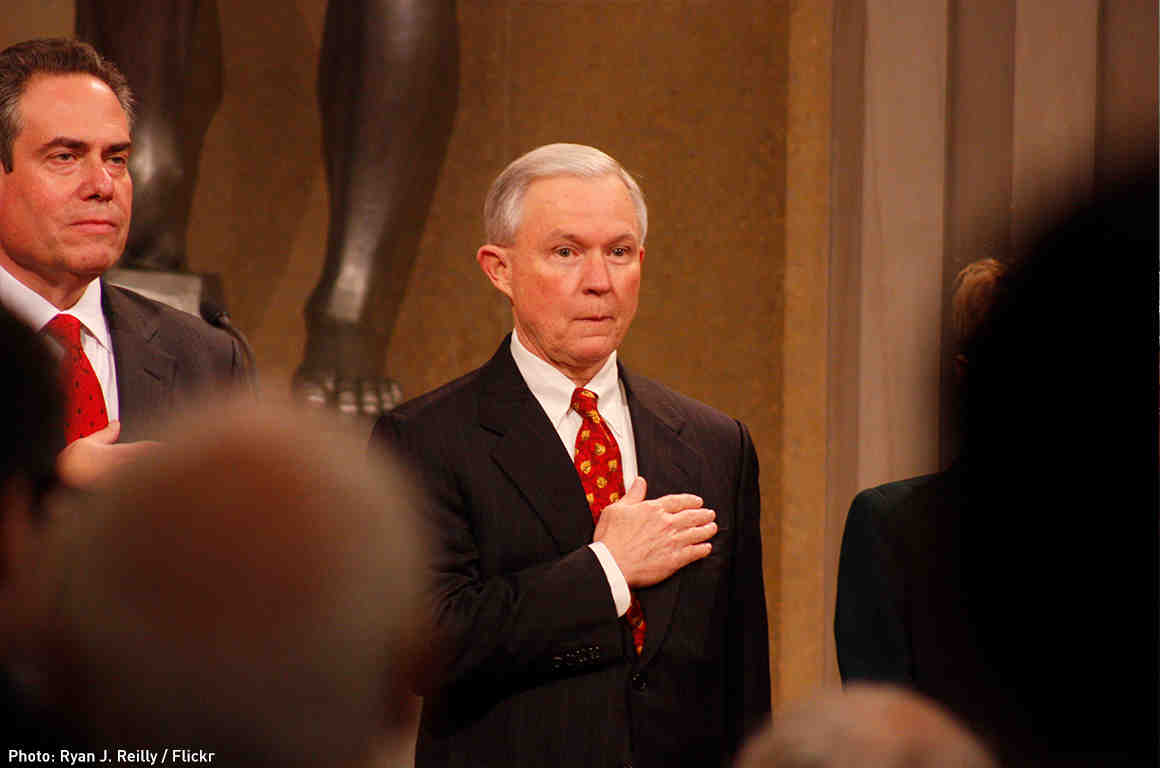 Jeff Sessions Oath