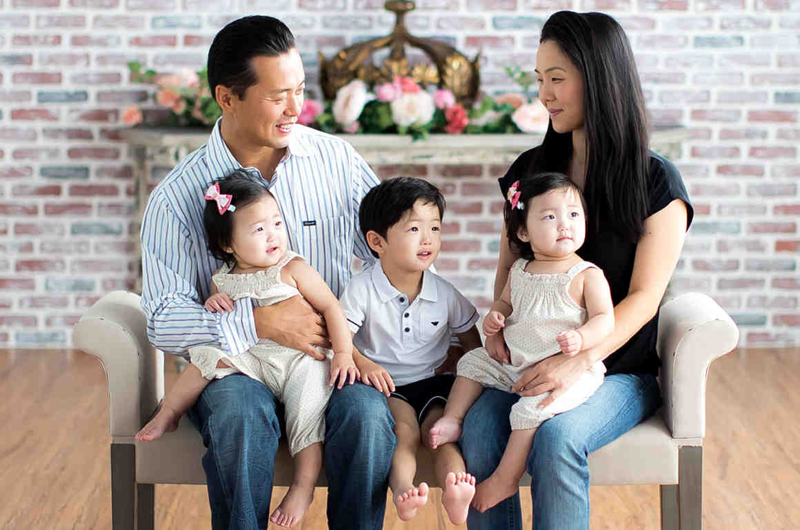 Mark Hwang Family