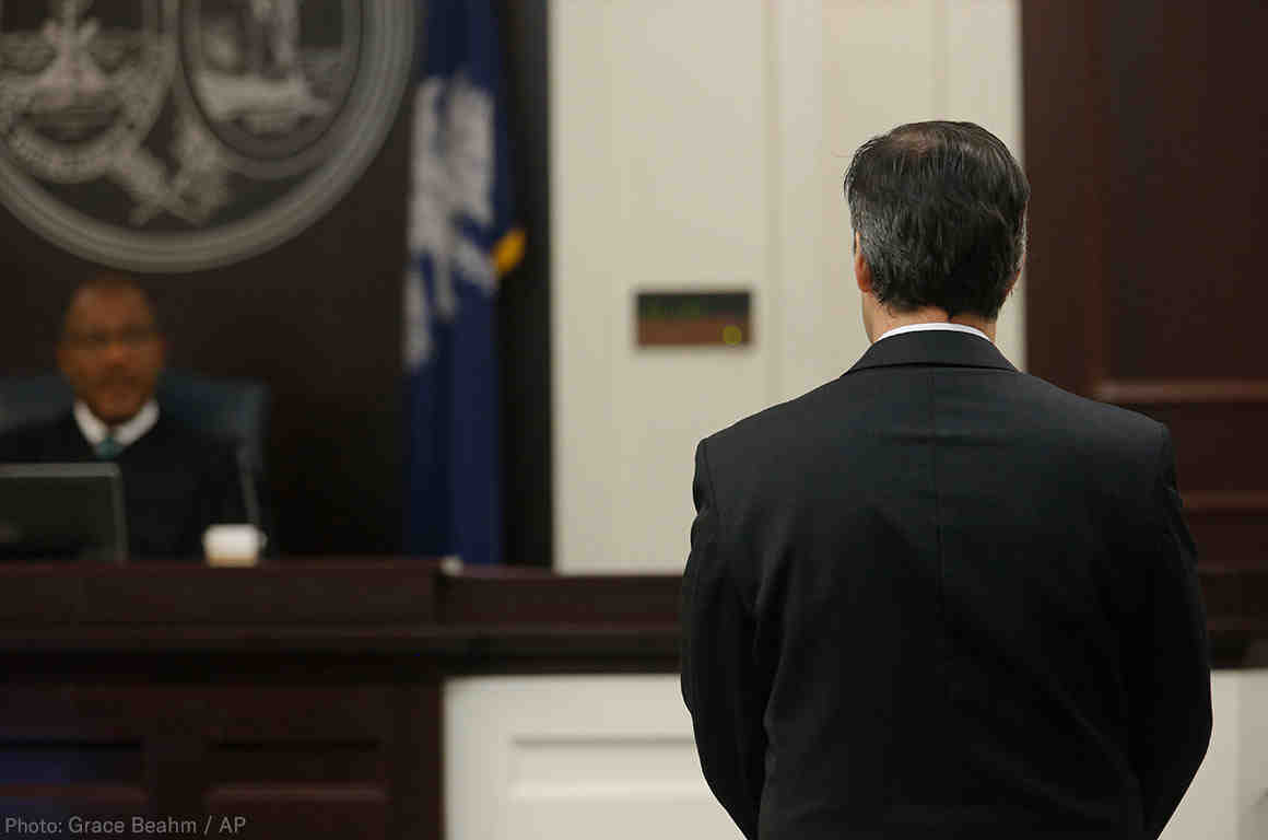 Former SC Officer Gets 20 Years In Prison For Killing Walter Scott