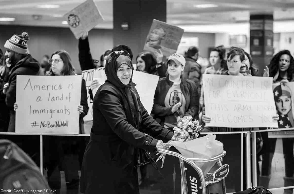 Muslim Ban Airport