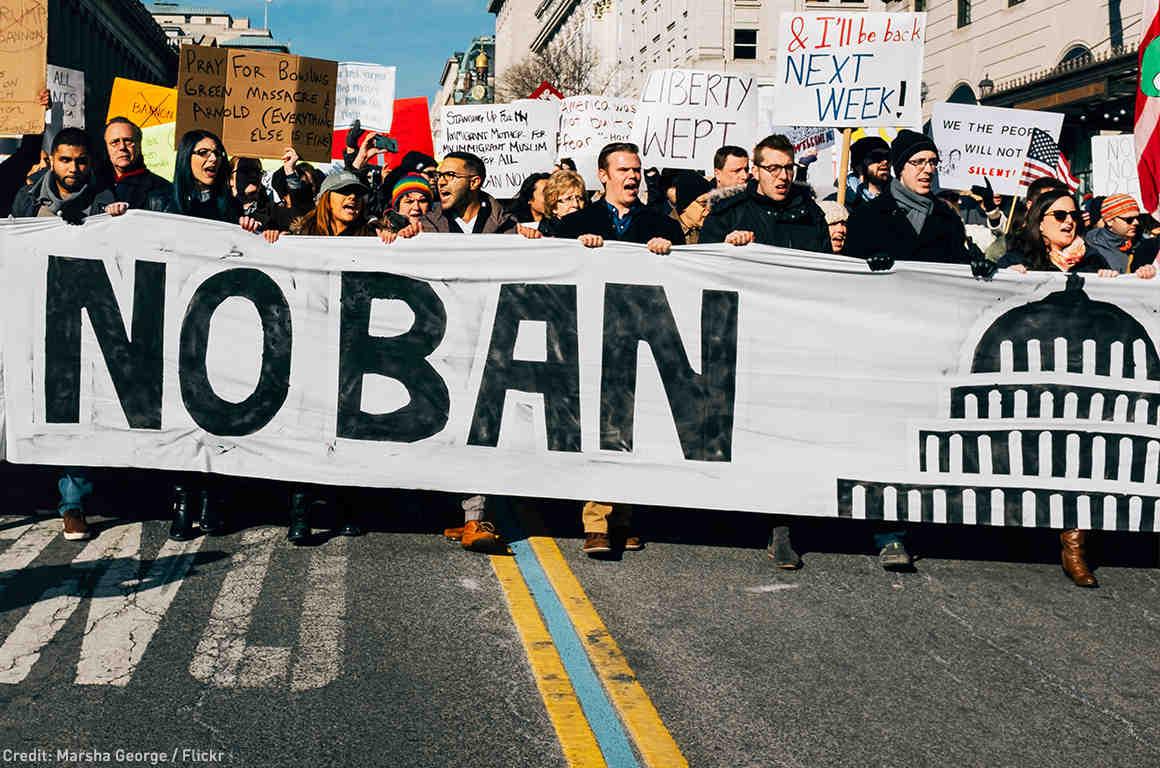 No Ban Banner